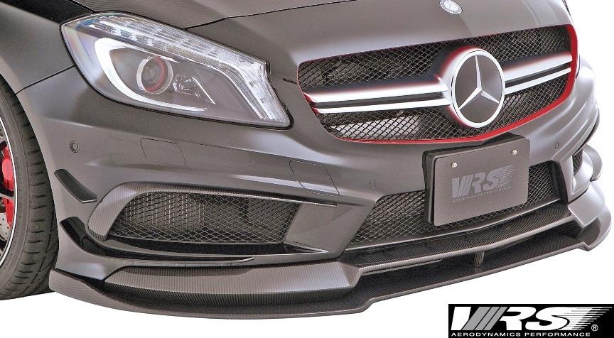 【M's】W176 A45AMG (2013y-2018y) VRS エアロキット 6点 (F+DT+SD+RD+RF+RW)//バリス VARIS ベンツ Aクラス A45 AMG エアロ フルエアロ_画像5