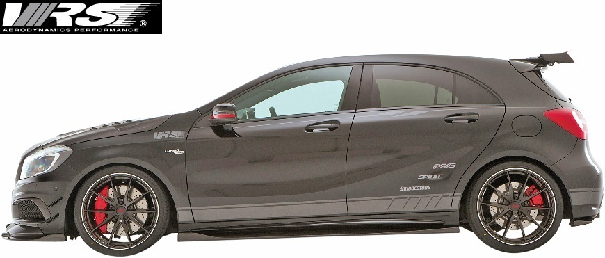 【M's】W176 AMG A45 (2013y-2018y) VRS エアロ 5点キット (F+DT+SD+RD+RF)//バリス VARIS ベンツ Aクラス A45AMG エアロ フルエアロ_画像2