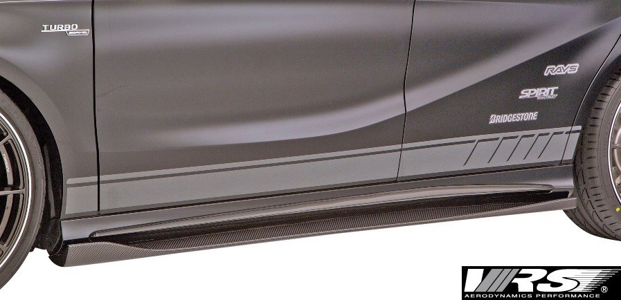 【M's】W176 A45AMG (2013y-2018y) VRS エアロキット 5点 (F+DT+SD+RD+RF)//バリス VARIS ベンツ Aクラス A45 AMG エアロ フルエアロ_画像7