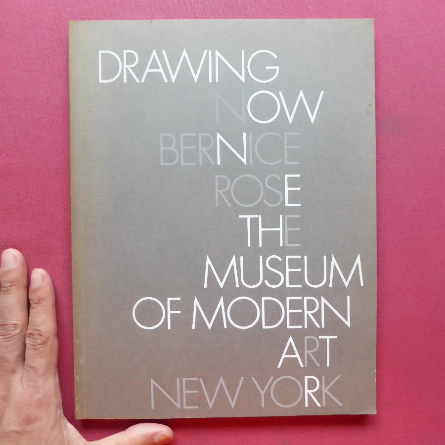 f3洋書図録【Drawing Now:The Museum of Modern Art New York/1976年】ジム・ダイン/ジャスパー・ジョーンズ/トゥオンブリー/ステラ_画像1