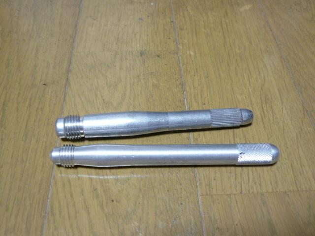 メルセデス・ベンツ純正特殊工具 ホイールマウンティングピン2種類セット 美品