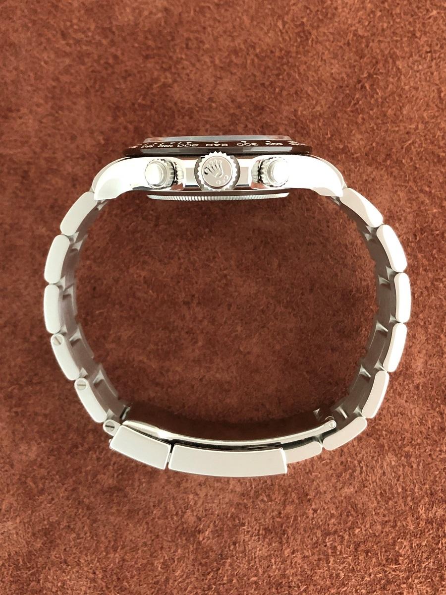 【a-watch名古屋】ロレックス(ROLEX)コスモグラフ デイトナ Ref.116506A プラチナ アイスブルー文字盤 11Pバケットダイヤモンド 未使用_画像3