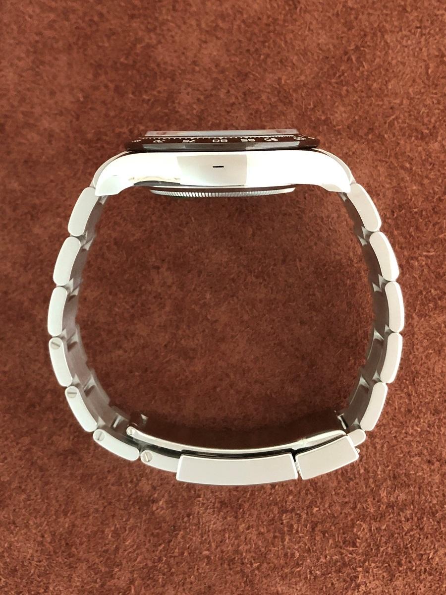 【a-watch名古屋】ロレックス(ROLEX)コスモグラフ デイトナ Ref.116506A プラチナ アイスブルー文字盤 11Pバケットダイヤモンド 未使用_画像4