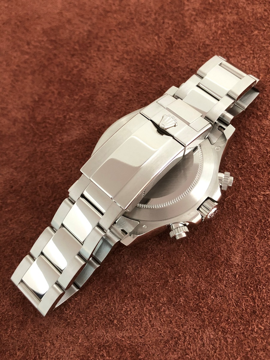 【a-watch名古屋】ロレックス(ROLEX)コスモグラフ デイトナ Ref.116506A プラチナ アイスブルー文字盤 11Pバケットダイヤモンド 未使用_画像5