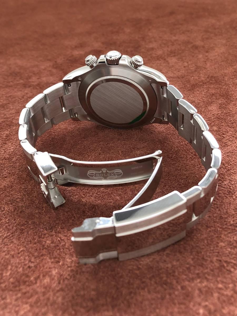 【a-watch名古屋】ロレックス(ROLEX)コスモグラフ デイトナ Ref.116506A プラチナ アイスブルー文字盤 11Pバケットダイヤモンド 未使用_画像7