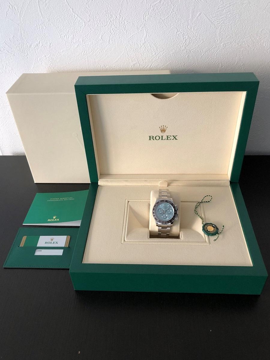 【a-watch名古屋】ロレックス(ROLEX)コスモグラフ デイトナ Ref.116506A プラチナ アイスブルー文字盤 11Pバケットダイヤモンド 未使用_画像8