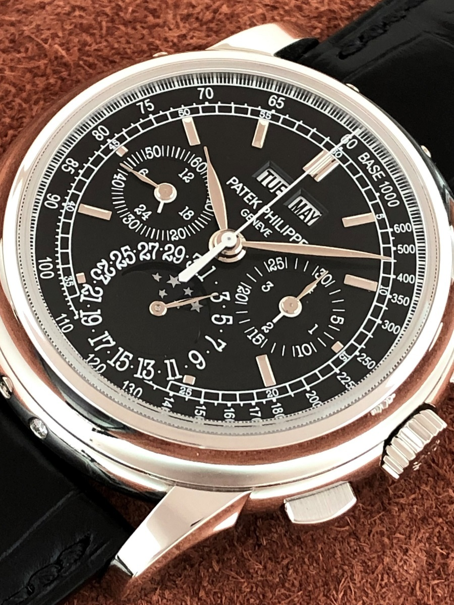 【a-watch名古屋】パテックフィリップ(PATEK PHILIPPE)グランドコンプリケーション 永久カレンダー クロノグラフ Ref.5970P-001 極上中古_画像2
