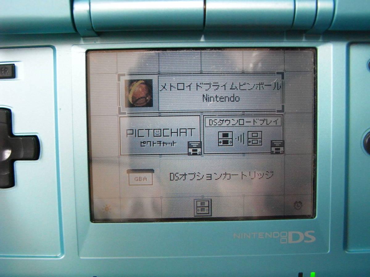 ニンテンドーDS メトロイドプライム ピンボール 振動カートリッジ付き 動作可能 即決_画像7