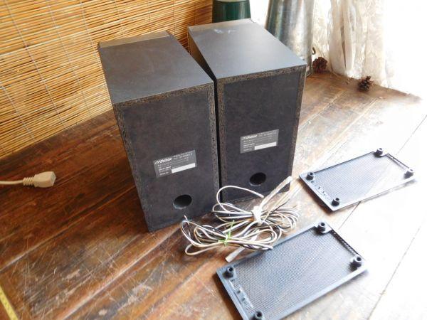 ビクター VICTOR スピーカーシステム SP.NXM01-B 24W 4Ω W13X24H24CM ペア_画像3