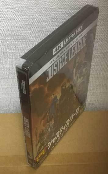 ジャスティス・リーグ(スチールブック・4K Ultra HD/Blu-ray)国内版・未開封新品_画像3