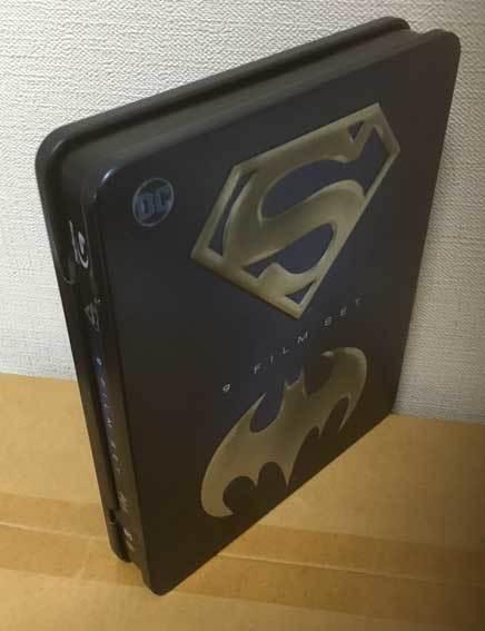 バットマン/スーパーマン アンソロジー全9作(イタリア版・スチール缶)ブルーレイ 日本語収録_画像3