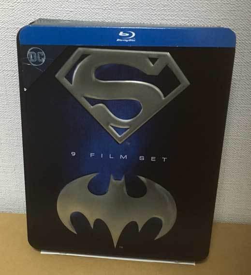 バットマン/スーパーマン アンソロジー全9作(イタリア版・スチール缶)ブルーレイ 日本語収録