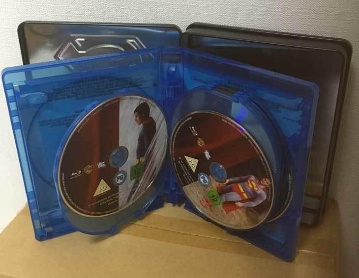 バットマン/スーパーマン アンソロジー全9作(イタリア版・スチール缶)ブルーレイ 日本語収録_画像7