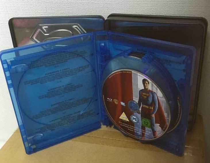 バットマン/スーパーマン アンソロジー全9作(イタリア版・スチール缶)ブルーレイ 日本語収録_画像6