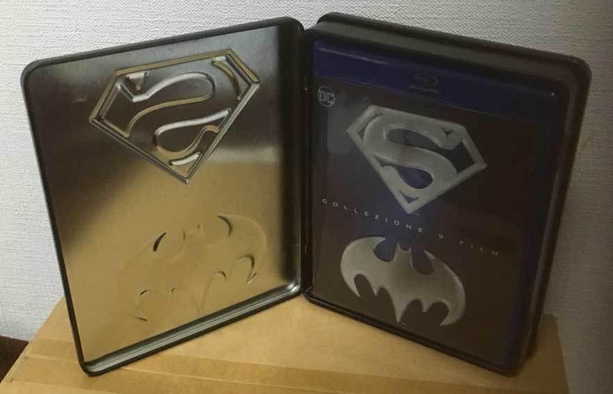 バットマン/スーパーマン アンソロジー全9作(イタリア版・スチール缶)ブルーレイ 日本語収録_画像5