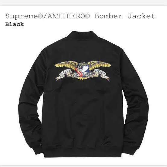 supreme antihero bomber jacket Mサイズ