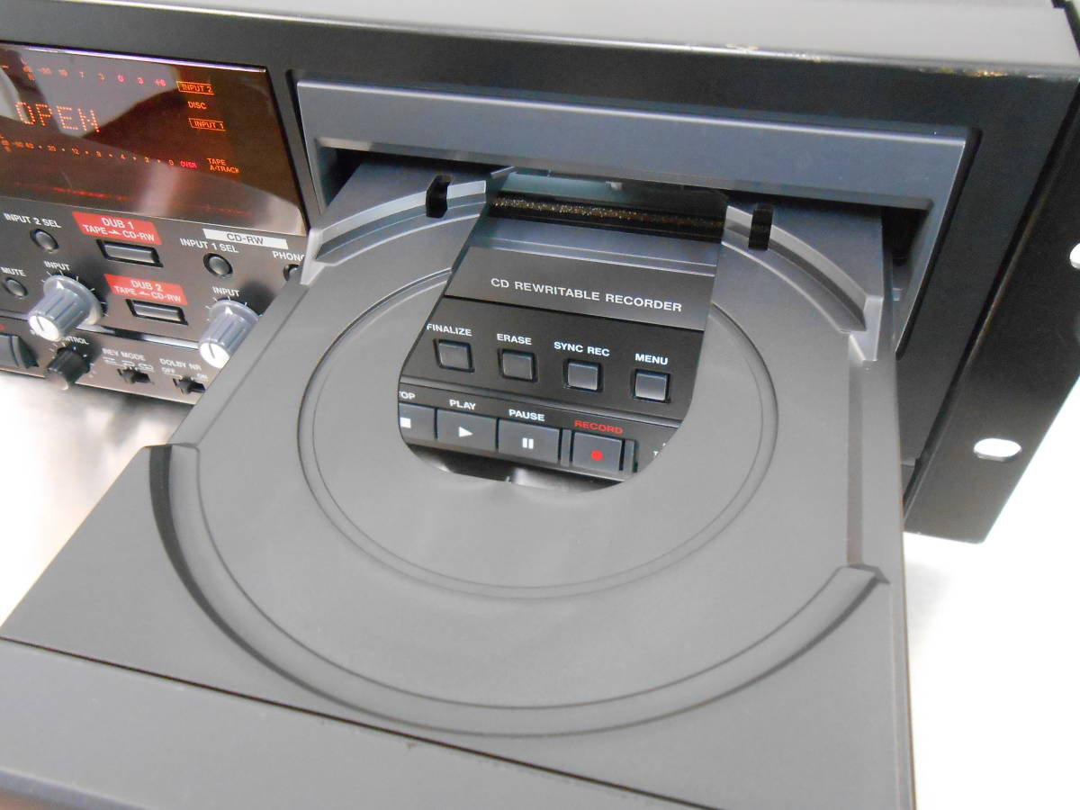 【TASCAM/タスカム】業務用 CDカセットレコーダー CC-222 (ジャンク)_画像5