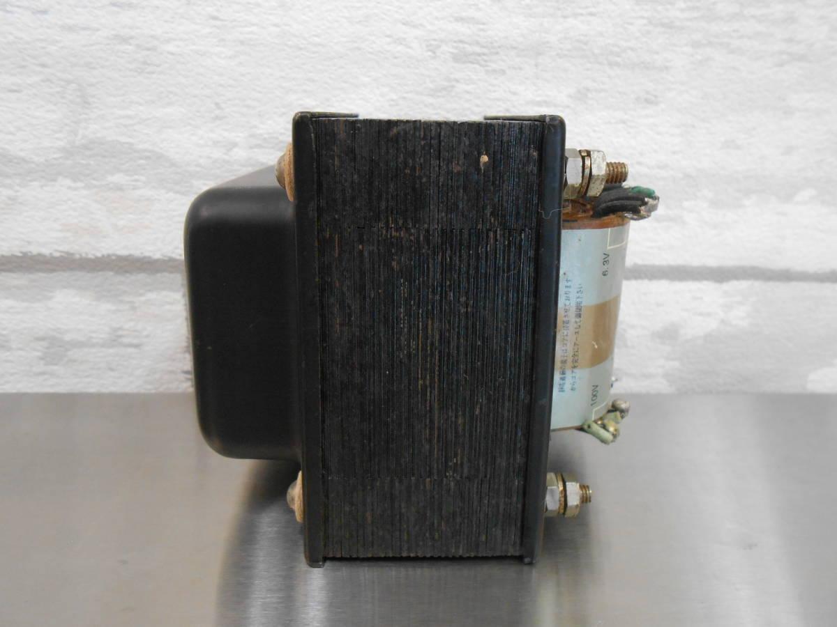 【SANSUI/山水】真空管アンプ用 電源トランス PT-120_画像2