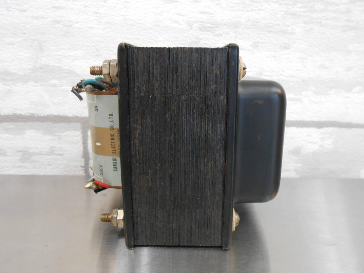 【SANSUI/山水】真空管アンプ用 電源トランス PT-120_画像3