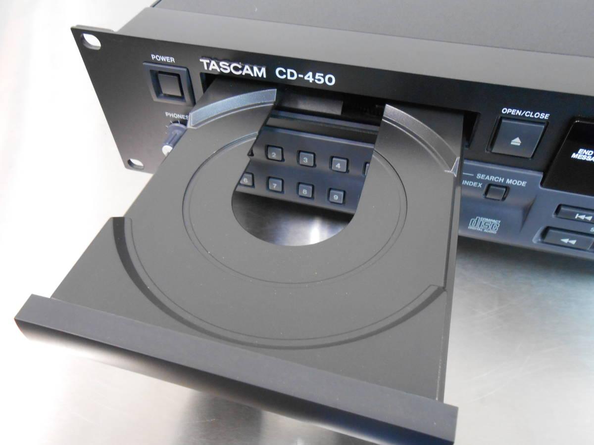 【TASCAM/タスカム】業務用 CDプレーヤー CD-450_画像3