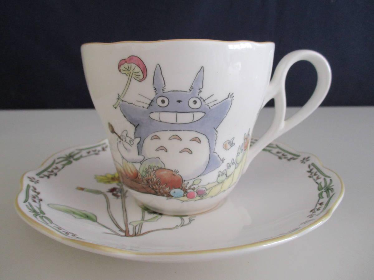 未使用品 Noritake となりのトトロ 碗皿ペア ティーカップ ソーサ マグカップ 箱付き ns_画像2