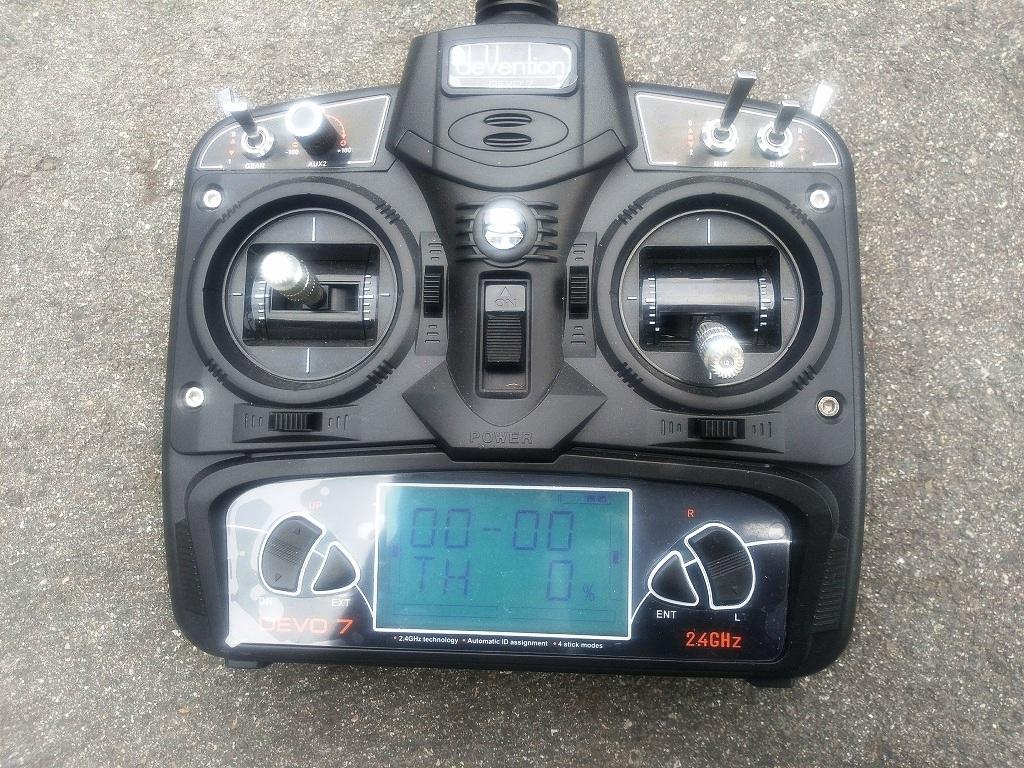 ワルケラ WALKERA G400(GPS付)DEVO7付 セット ジャンク_画像10