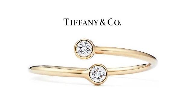 エルサペレッティ TIFFANY&CO ダイヤモンド フープ リング 11号