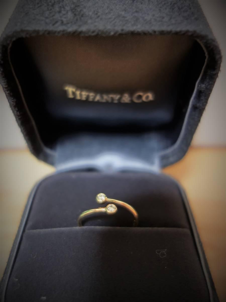 エルサペレッティ TIFFANY&CO ダイヤモンド フープ リング 11号_画像6