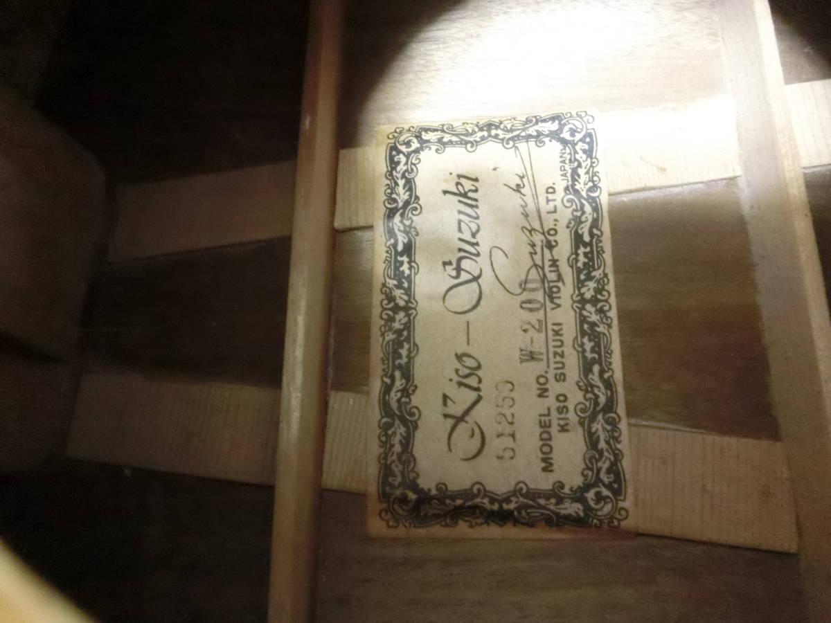 木曽SUZUKI KISOSUZUKI ギター W-200ジャパンビンテージ_画像8