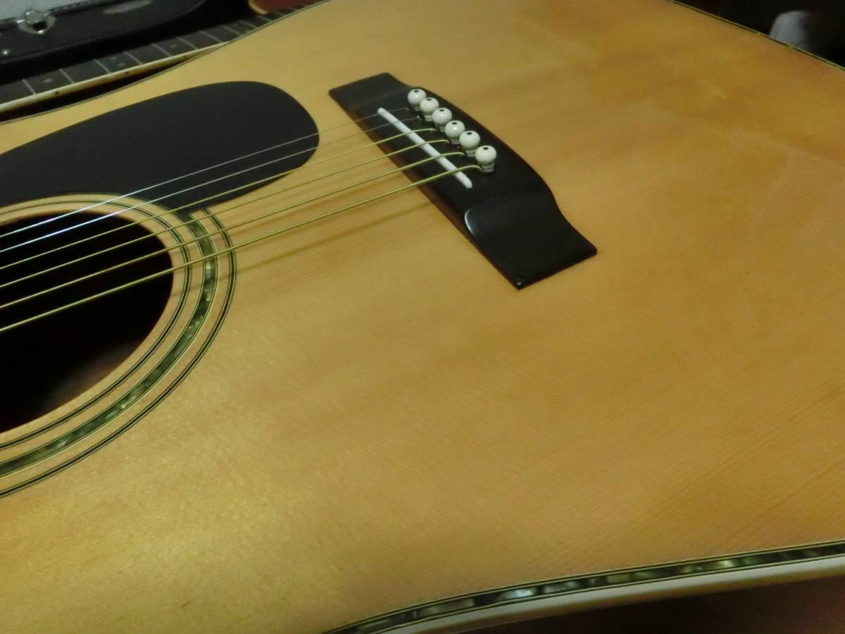 木曽SUZUKI KISOSUZUKI ギター W-200ジャパンビンテージ_画像9