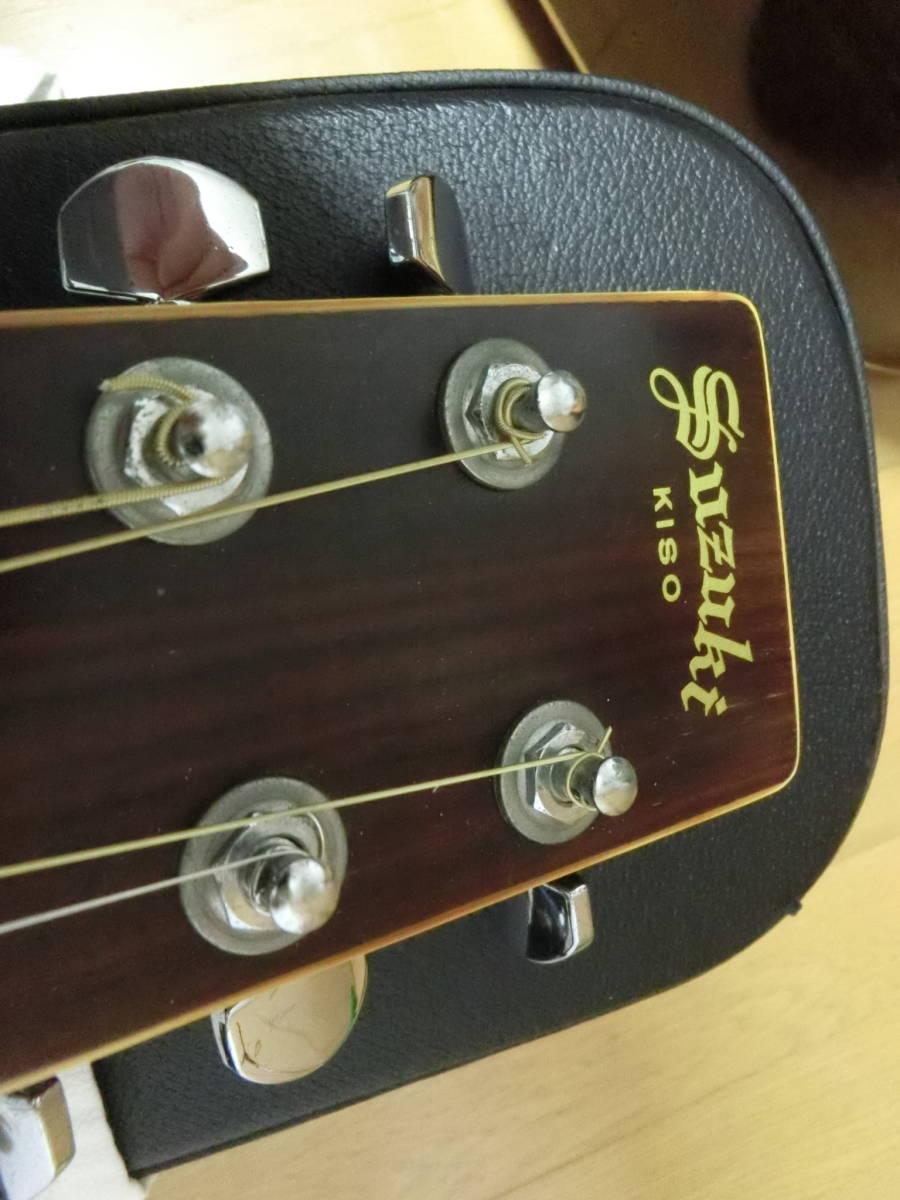 木曽SUZUKI KISOSUZUKI ギター W-200ジャパンビンテージ_画像3