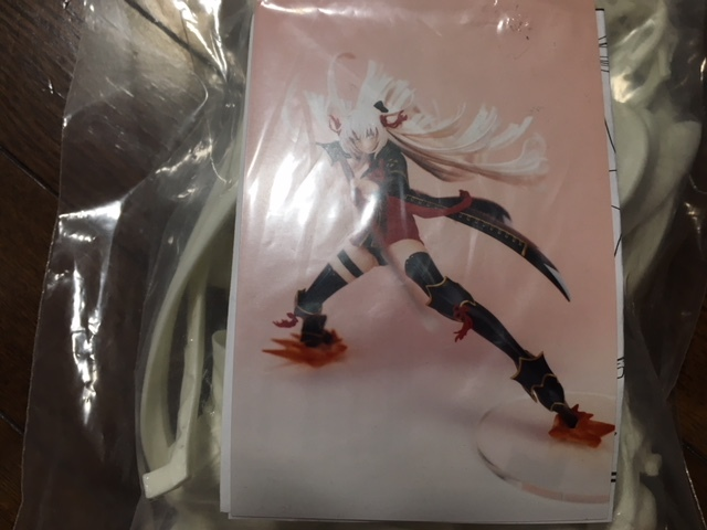 未組立 ケルベロスプロジェクト Fate/Grand Order FGO 沖田総司 オルタ ガレージキット ワンフェス トレフェス_画像2