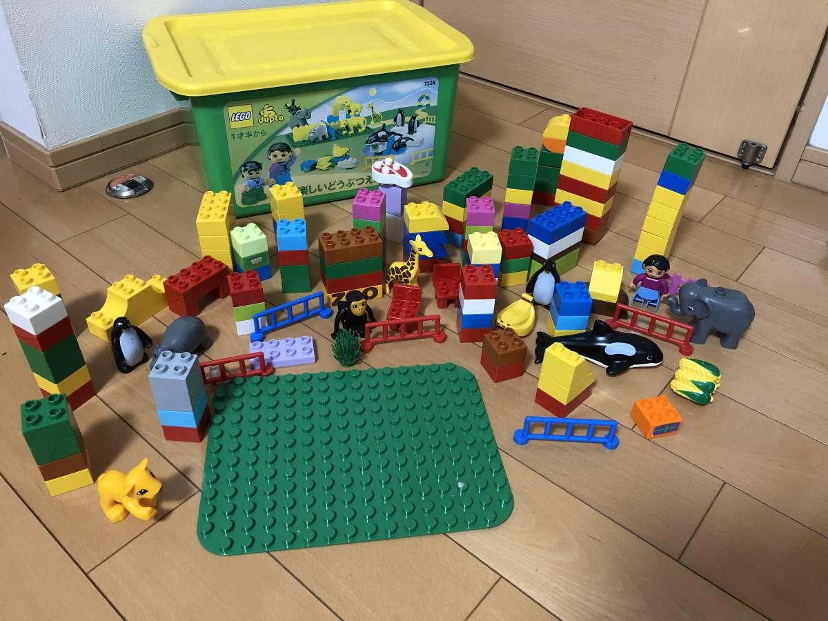レゴ デュプロ LEGO ブロック 楽しい動物園