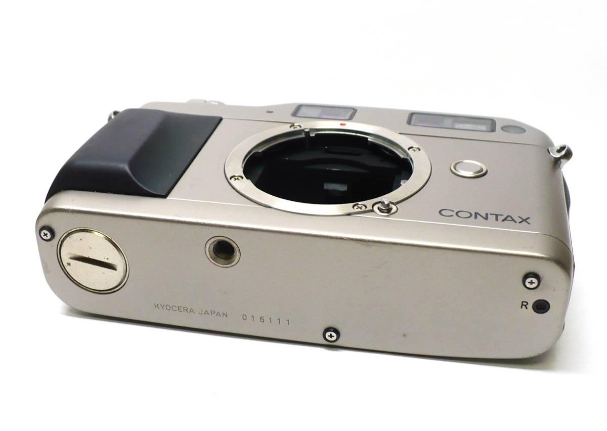 ★CONTAX(コンタックス)◆ G1 ◆ボディ●_画像5