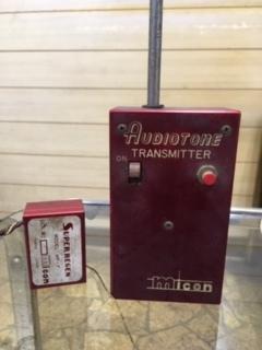 古い古い maikonシングル送・受信機ジャンク