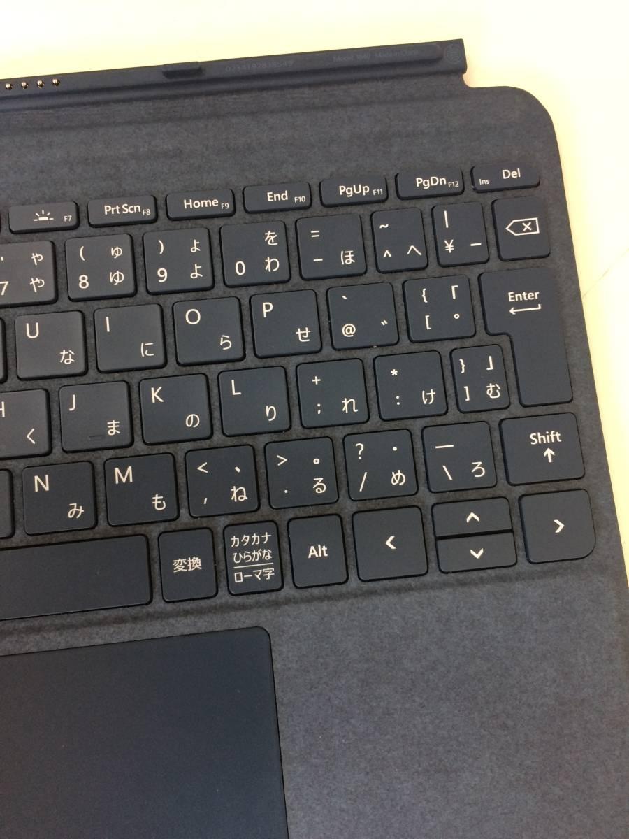 ③Microsoft マイクロソフト surface go signature タイプカバー        KCS-00039 0526-0-0899-6     80-1F_画像8