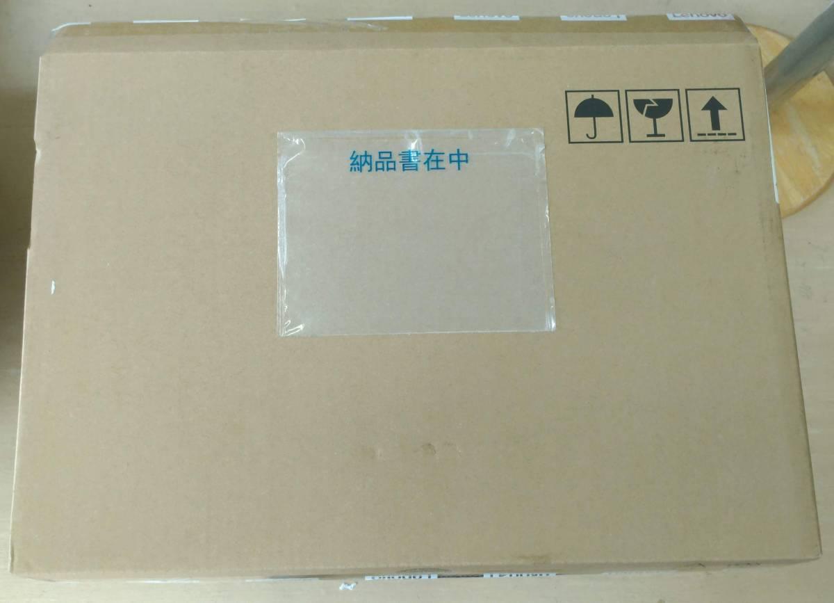 000129 新品未開封 LENOVO ThinkPad E595/Ryzen 5 3500U/8GB RAM/15.6inchフルHD IPS/SSD 128GB/1TB HDD 65W/AC_画像4