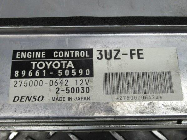絶版! TOM'S トムス UCF30 セルシオ 3UZ-FE ECU CPU エンジン コンピューター コントロールユニット 89600-TFT30-AT 89661-50590_画像3