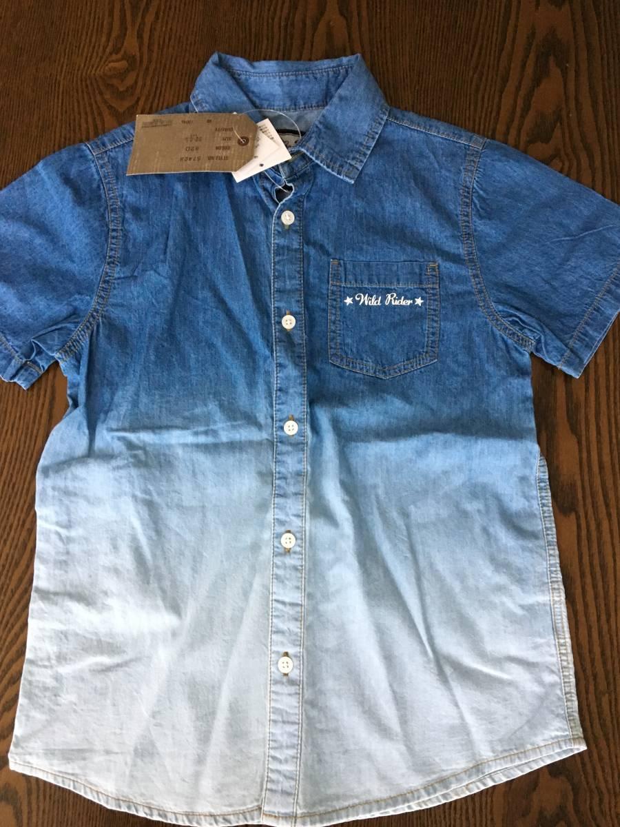 ★半袖シャツ ★ 140 デニム 新品