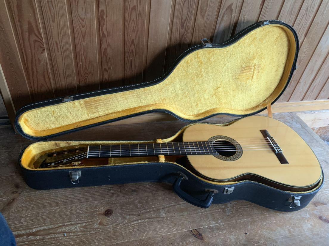 ヤマハ クラッシックギター GC-10M 加藤俊郎 ロットナンバー873 1974年秀品■■出自:ヤマハGCシリーズ中位作品。_画像2