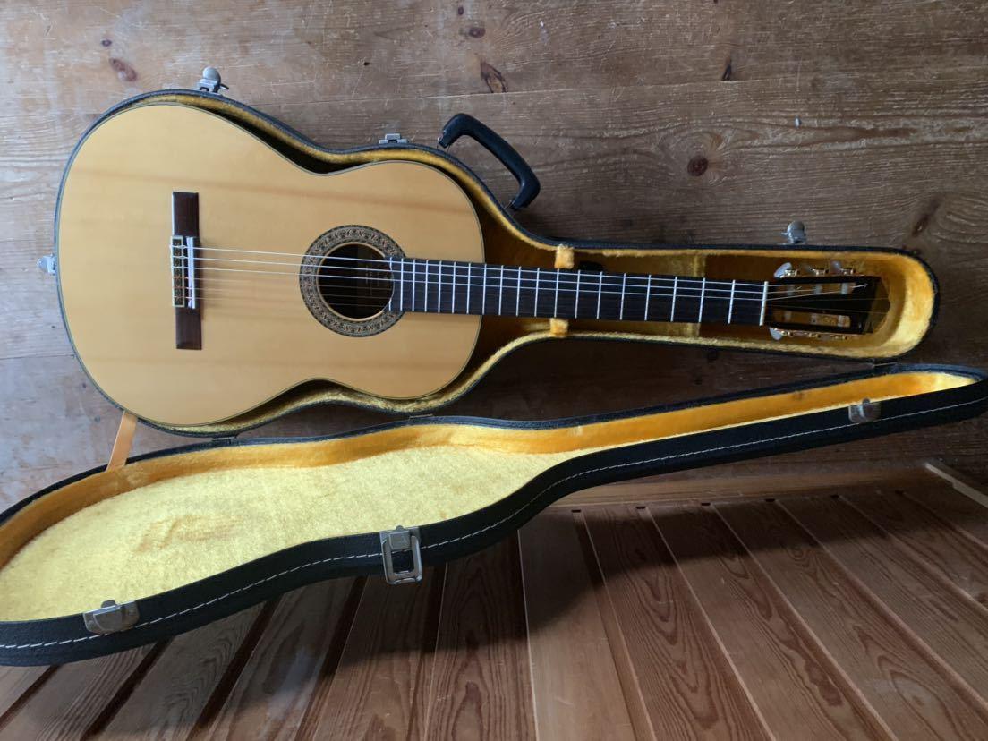ヤマハ クラッシックギター GC-10M 加藤俊郎 ロットナンバー873 1974年秀品■■出自:ヤマハGCシリーズ中位作品。_画像3
