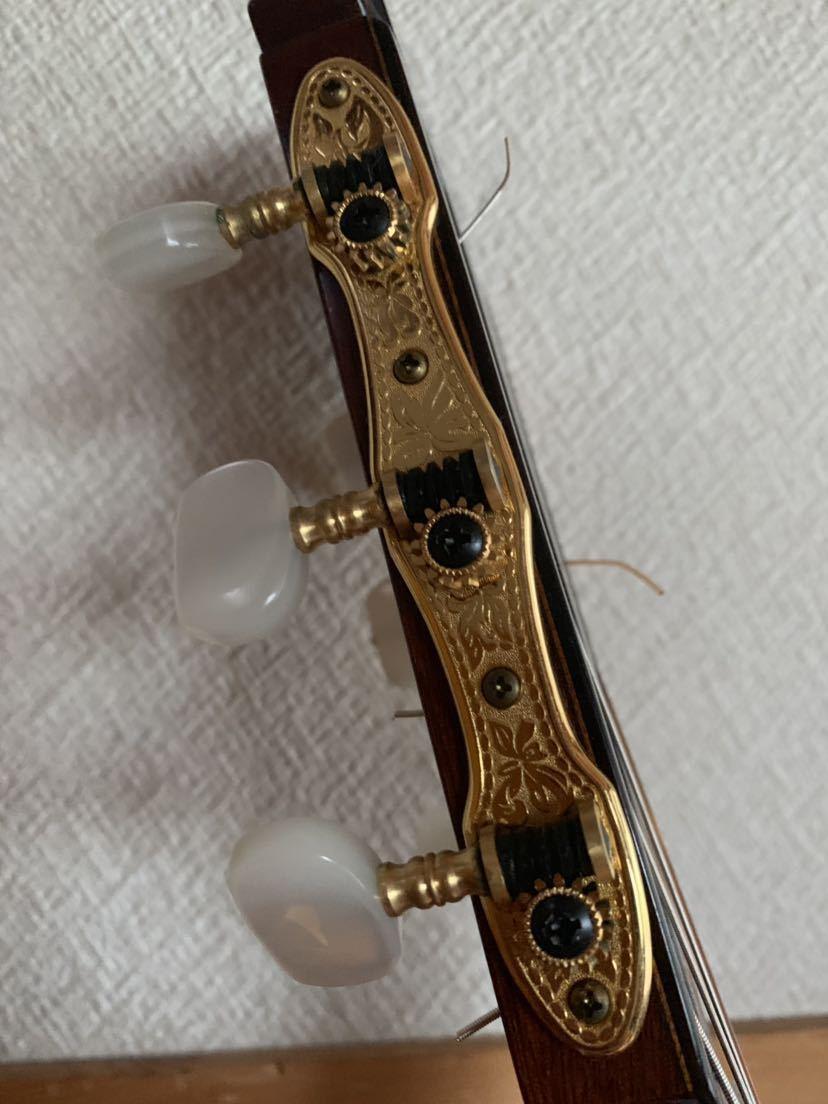 ヤマハ クラッシックギター GC-10M 加藤俊郎 ロットナンバー873 1974年秀品■■出自:ヤマハGCシリーズ中位作品。_画像8
