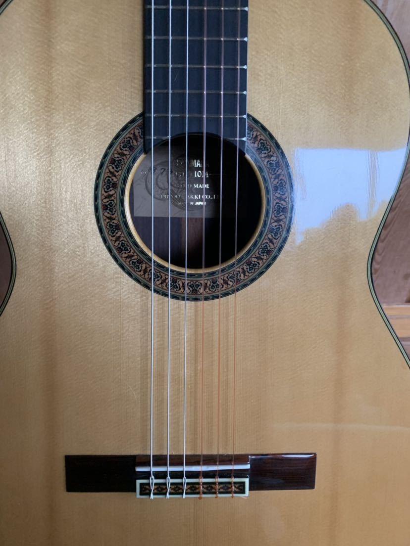ヤマハ クラッシックギター GC-10M 加藤俊郎 ロットナンバー873 1974年秀品■■出自:ヤマハGCシリーズ中位作品。_画像6