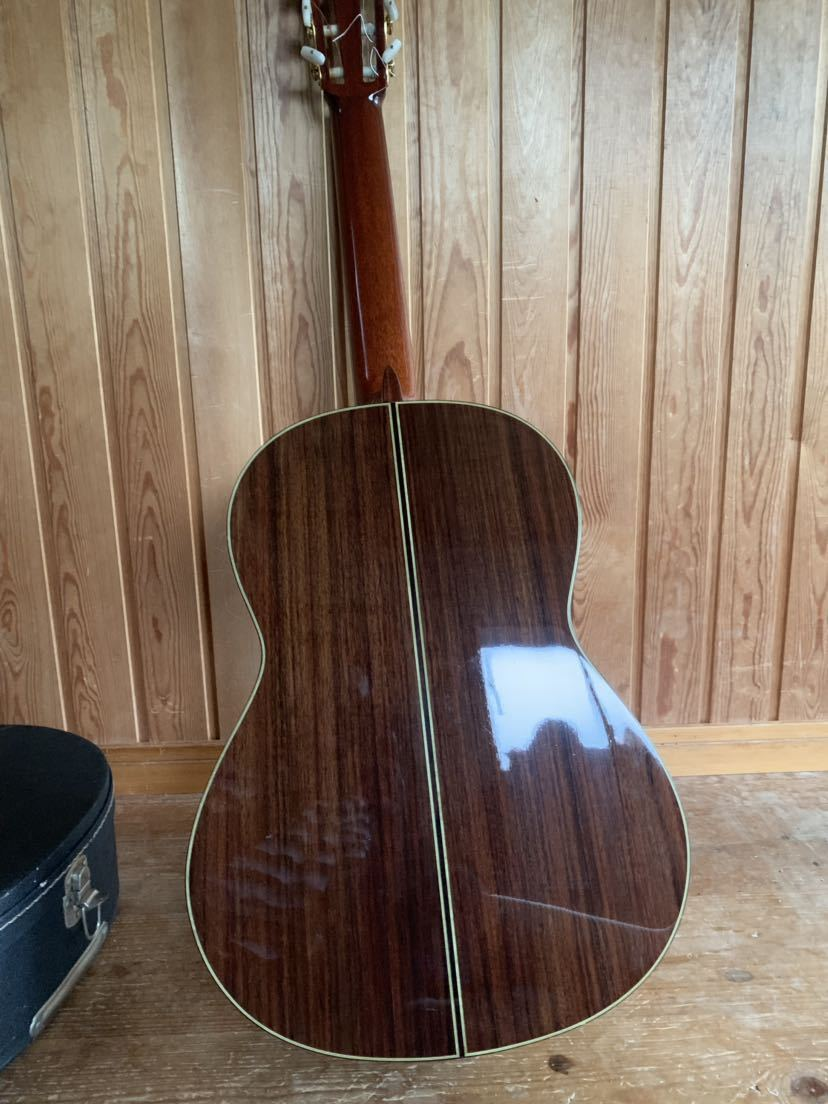 ヤマハ クラッシックギター GC-10M 加藤俊郎 ロットナンバー873 1974年秀品■■出自:ヤマハGCシリーズ中位作品。_画像9