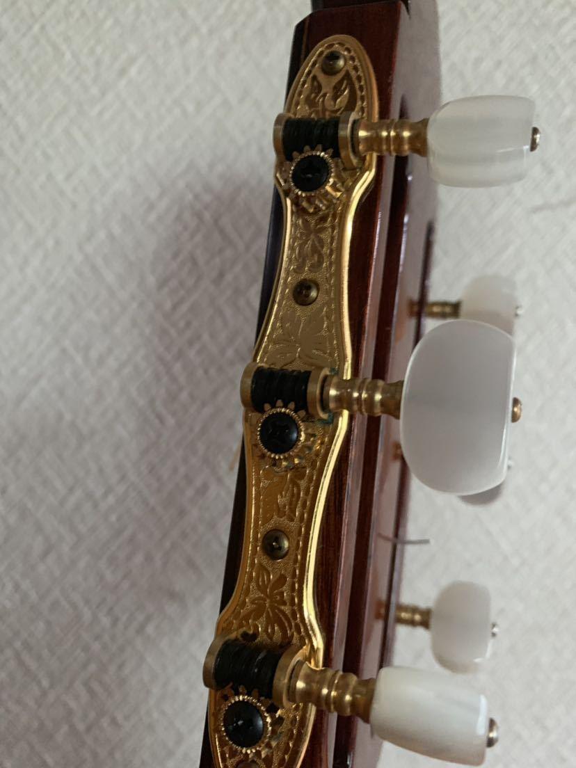 ヤマハ クラッシックギター GC-10M 加藤俊郎 ロットナンバー873 1974年秀品■■出自:ヤマハGCシリーズ中位作品。_画像5