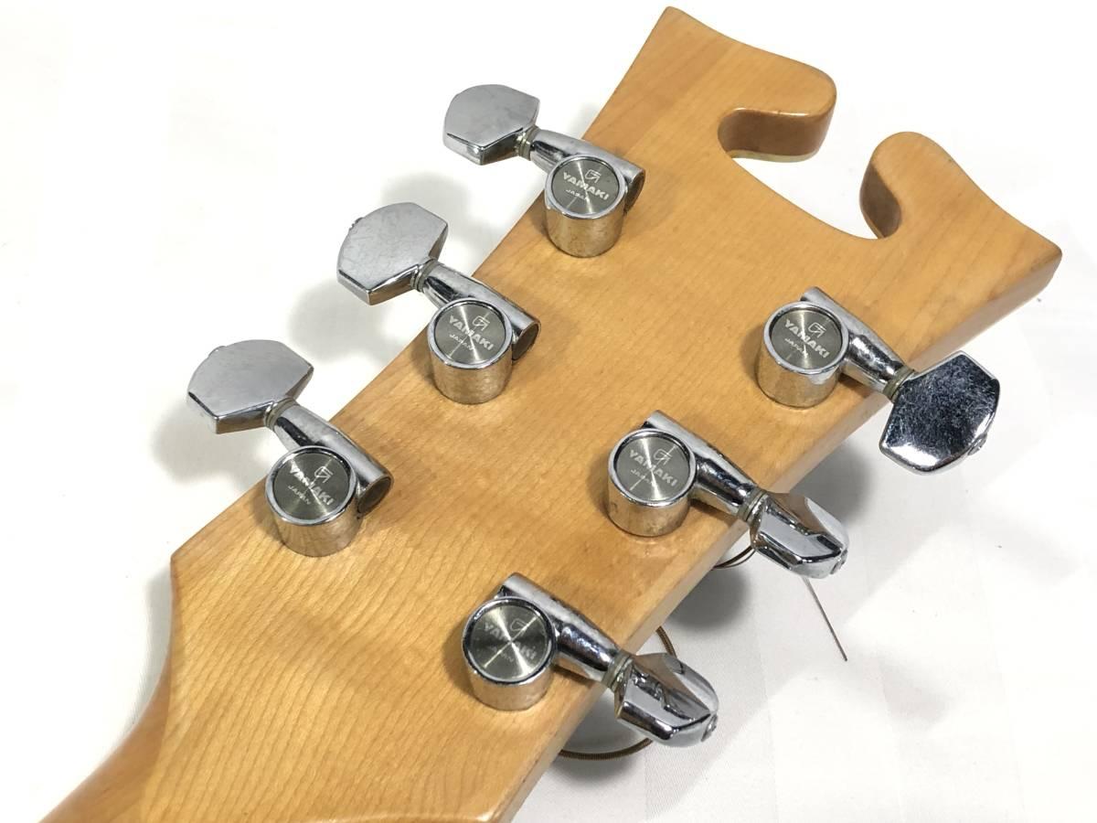 レア物 YAMAKI ヤマキ アコースティック ギター B40 バッファローヘッド 〇3_画像6