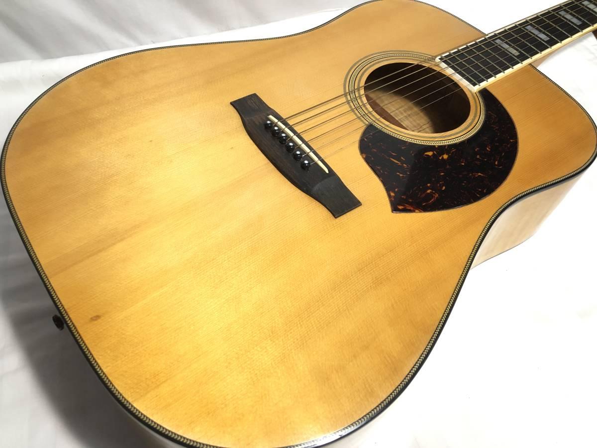 レア物 YAMAKI ヤマキ アコースティック ギター B40 バッファローヘッド 〇3_画像7