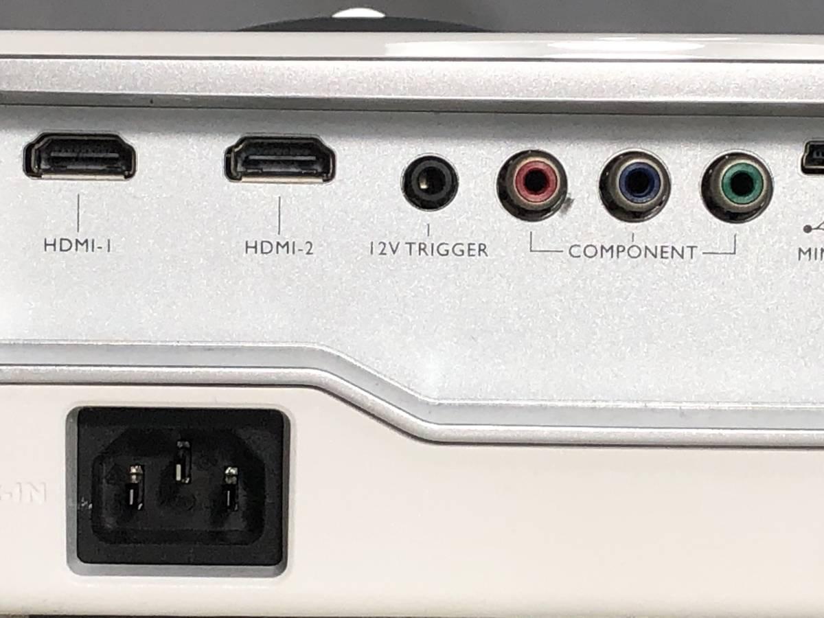 BenQ W1070 フルHD DLP ホームプロジェクター 〇3_画像8