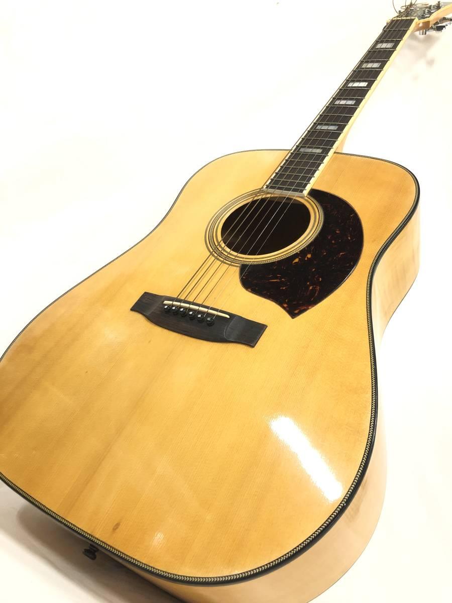 レア物 YAMAKI ヤマキ アコースティック ギター B40 バッファローヘッド 〇3