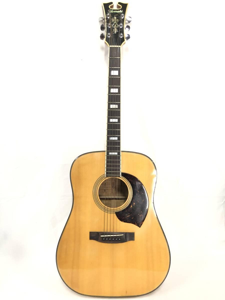 レア物 YAMAKI ヤマキ アコースティック ギター B40 バッファローヘッド 〇3_画像2